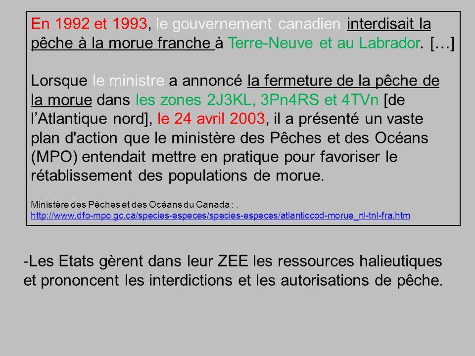 En 1992 et 1993, le gouvernement canadien interdisait la pêche à la morue franche à Terre-Neuve et au Labrador. […]